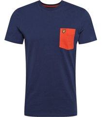 contrast pocket t-shirt