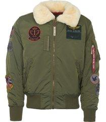 alpha industries sage injector 3 patch jacket 168128-01