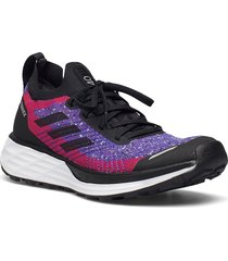 terrex two primeblue trail running w shoes sport shoes running shoes blå adidas performance