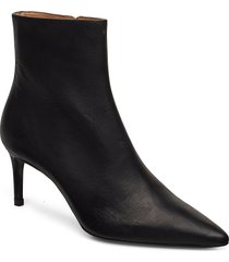 booties shoes boots ankle boots ankle boot - heel svart billi bi