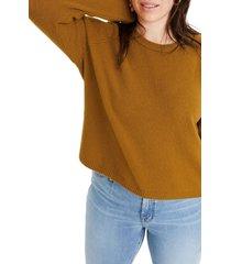 women's madewell allister coziest yarn pullover