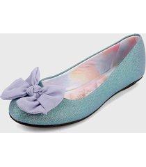 baleta azul-multicolor moleca