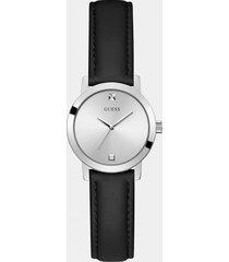 zegarek analogowy ze skórzanym paskiem