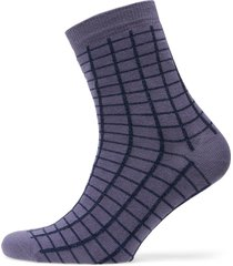 grid short shocks lingerie socks regular socks lila bobo choses