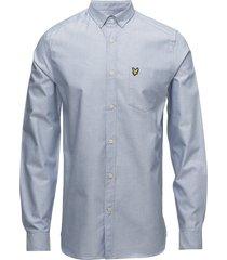 oxford shirt overhemd business blauw lyle & scott