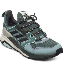 terrex trailmaker gtx w shoes sport shoes outdoor/hiking shoes grön adidas performance