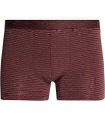 boxer lineas microfibras color vino, talla l