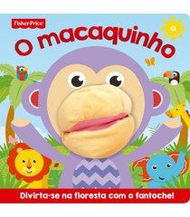 livro fisher-price o macaquinho - ciranda cultural