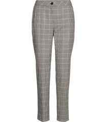 leisure trousers lon pantalon met rechte pijpen grijs gerry weber