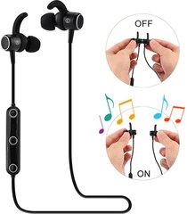 audifonos, m2 smart magnetic power auriculares inalámbricos deportivos anti-sudor auriculares de metal en los auriculares para sony iphone samsung (blanco)