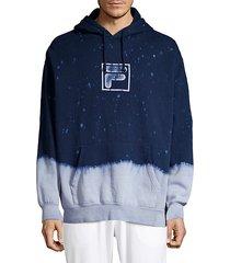 splatter dip-dye sweatshirt