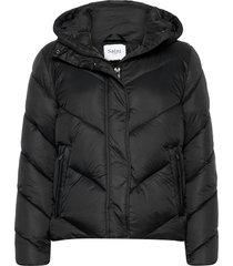 catjasz short jacket gevoerd jack zwart saint tropez