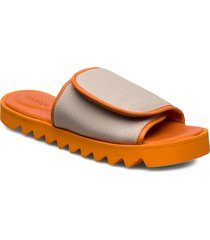 rodebjer micki shoes summer shoes flat sandals orange rodebjer