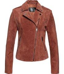 giacca in pelle (marrone) - bpc selection premium