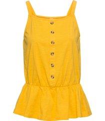 maglia con bottoni (giallo) - rainbow