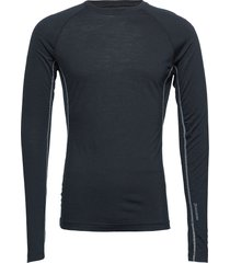 m's desoli crew base layer tops blauw houdini