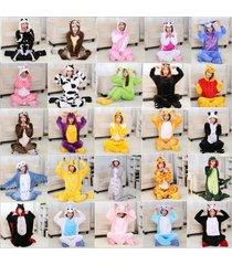new unisex animal adult one-piece sleepwear pajamas kigurumi cosplay costume