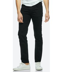 regular jeans - svart
