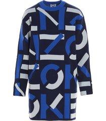 kenzo monogram dress