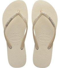 sandalias havaianas slim glitter me fc 4146118 femenino
