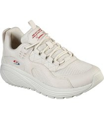 tenis lifestyle skechers bobs sport sparrow 2.0 urban sounds - beige