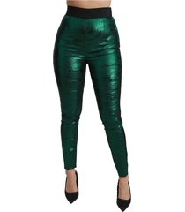 high waist legging stretch broek