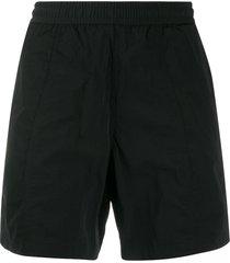 ami paris classic swim shorts - black