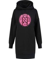 hoodie dress fluo
