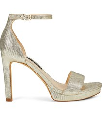 sandalia para mujer nine west edyn3 - dorado