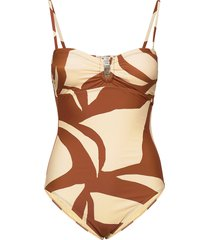 julia swimsuit badpak badkleding beige second female