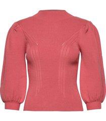 betsy turtle neck sweater gebreide trui roze guess jeans