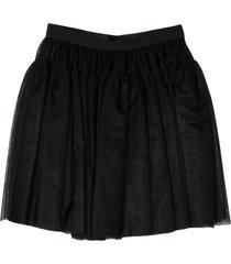 dolce & gabbana black mini skirt