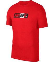 camiseta nike jdi bumper - rojo