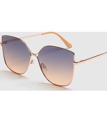 lane bryant women's oversized cateye sunglasses onesz rose gold tone