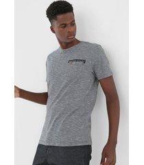 camiseta polo wear bolso cinza - cinza - masculino - algodã£o - dafiti