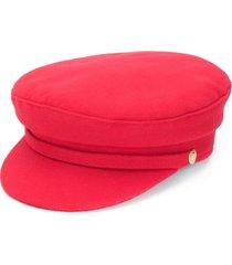 manokhi x toukitsou greek fisherman hat - red