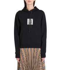burberry junnes hoodie woith bamie print