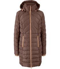 giacca lunga trapuntata (marrone) - bpc bonprix collection