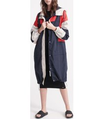 superdry women's edit nautical parka coat