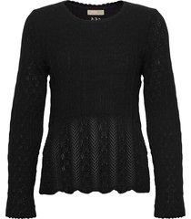 maureen sweater gebreide trui zwart odd molly