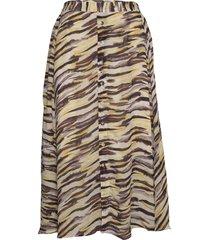 ditaiw skirt knälång kjol multi/mönstrad inwear