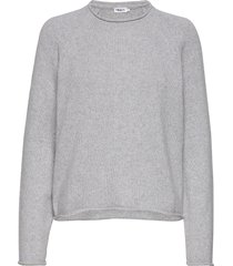 dahlia sweater stickad tröja grå filippa k