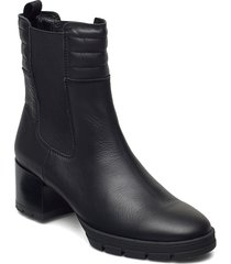 july_nf shoes boots ankle boots ankle boot - heel svart unisa