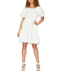 bcbgeneration damask babydoll dress