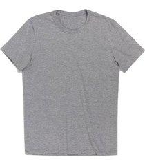 camiseta new basic lisa fio penteado masculina - masculino