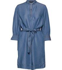 sldariana tunic dress tuniek blauw soaked in luxury