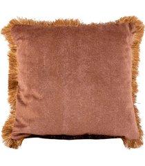 almofada decorativa de veludo shire