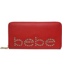 bebe jetta zip around wallet
