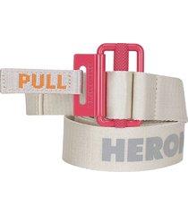 heron preston heron preston kk tape belt
