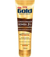 condicionador bomba niely gold chocolate - 150ml